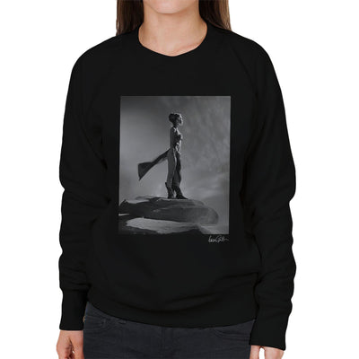 Star Wars Behind The Scenes Princess Leia Gold Bikini Women's Sweatshirt - Don't Talk To Me About Heroes