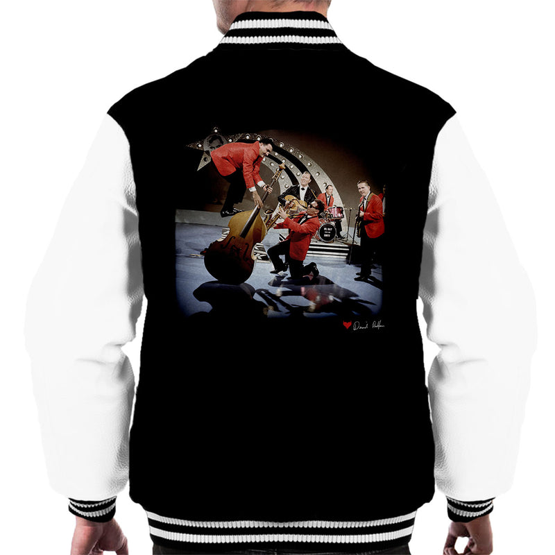 Bill Haley And The Comets Double Bass Balancing Men's Varsity Jacket