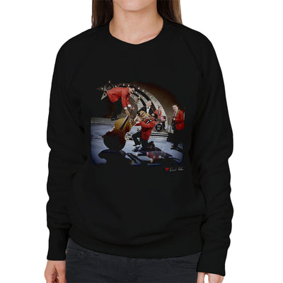 Bill Haley And The Comets Double Bass Balancing Women's Sweatshirt - Don't Talk To Me About Heroes