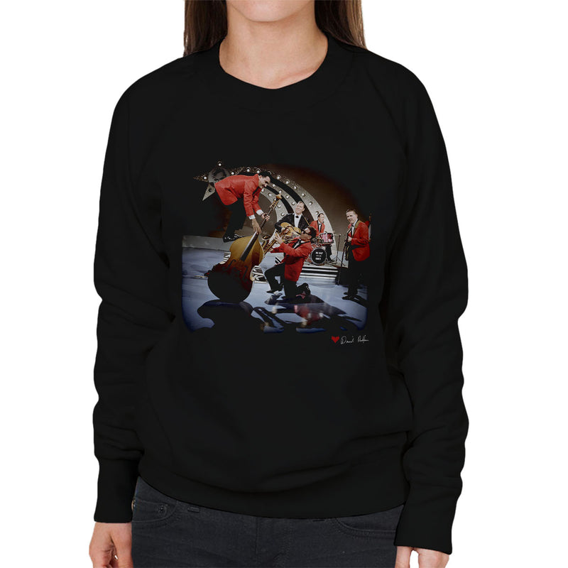 Bill Haley And The Comets Double Bass Balancing Women's Sweatshirt