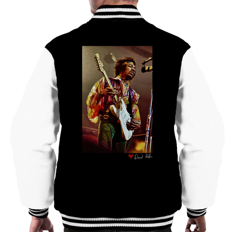 Jimi Hendrix At The Royal Albert Hall 1969 Men's Varsity Jacket