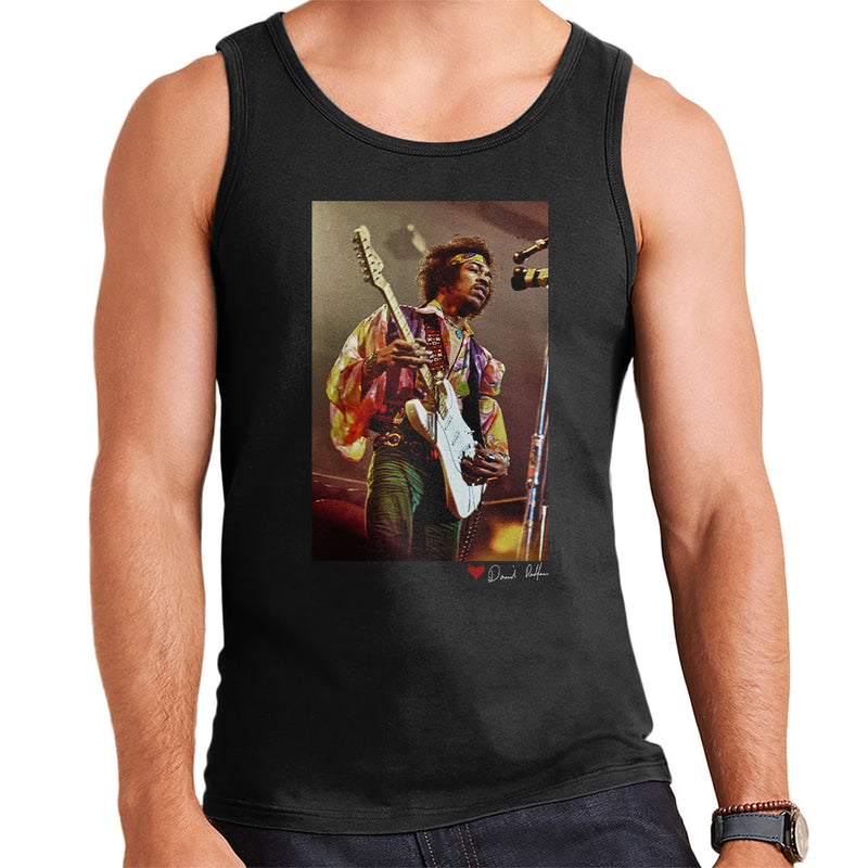 Jimi Hendrix At The Royal Albert Hall 1969 Men's Vest - Don't Talk To Me About Heroes