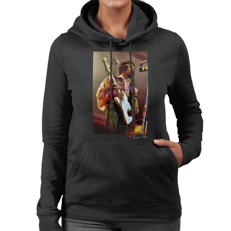 Jimi Hendrix At The Royal Albert Hall 1969 Women's Hooded Sweatshirt