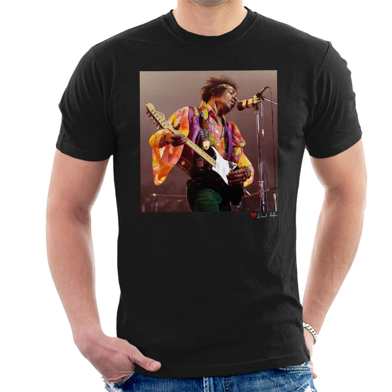 Jimi Hendrix At The Royal Albert Hall 1969 Alt Men's T-Shirt - Don't Talk To Me About Heroes