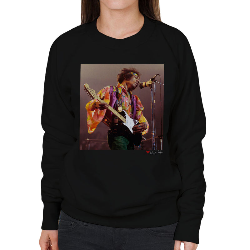 Jimi Hendrix At The Royal Albert Hall 1969 Alt Women's Sweatshirt