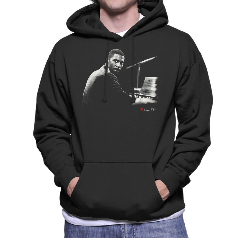 Jimmy Smith Jazz Organist Men's Hooded Sweatshirt - Don't Talk To Me About Heroes