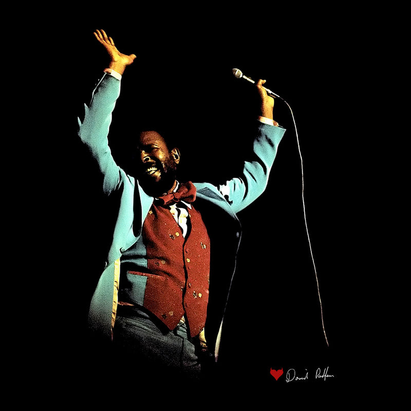 Marvin Gaye At The Royal Albert Hall London 1976 Women's Vest - Don't Talk To Me About Heroes