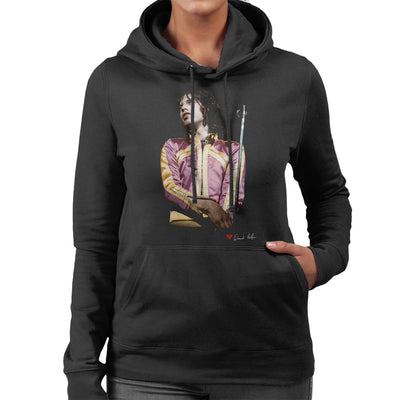 Mick Jagger On Stage Loud Jacket Women's Hooded Sweatshirt - Don't Talk To Me About Heroes