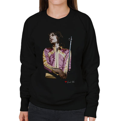 Mick Jagger On Stage Loud Jacket Women's Sweatshirt - Don't Talk To Me About Heroes