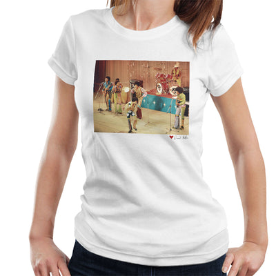The Jackson 5 At The Royal Variety Performance White Women's T-Shirt