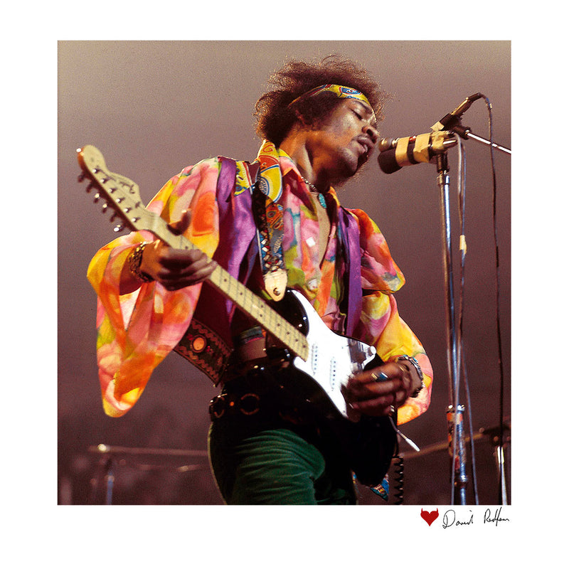 Jimi Hendrix At The Royal Albert Hall 1969 B&W White Men's Vest - Don't Talk To Me About Heroes