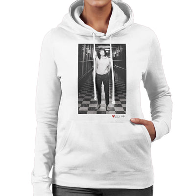 Sandie Shaw M1 Services 1964 White Women's Hooded Sweatshirt - Don't Talk To Me About Heroes