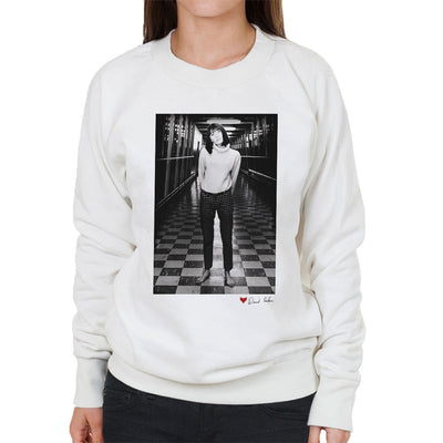 Sandie Shaw M1 Services 1964 White Women's Sweatshirt - Don't Talk To Me About Heroes