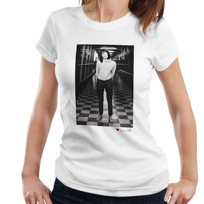 Sandie Shaw M1 Services 1964 White Women's T-Shirt - Don't Talk To Me About Heroes