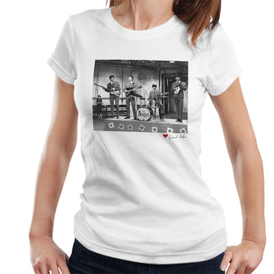 The Beatles Ready Steady Go London 1964 White Women's T-Shirt - Don't Talk To Me About Heroes
