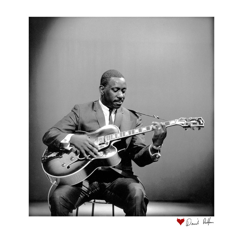 Wes Montgomery Playing Guitar 1964 White Men's T-Shirt - Don't Talk To Me About Heroes