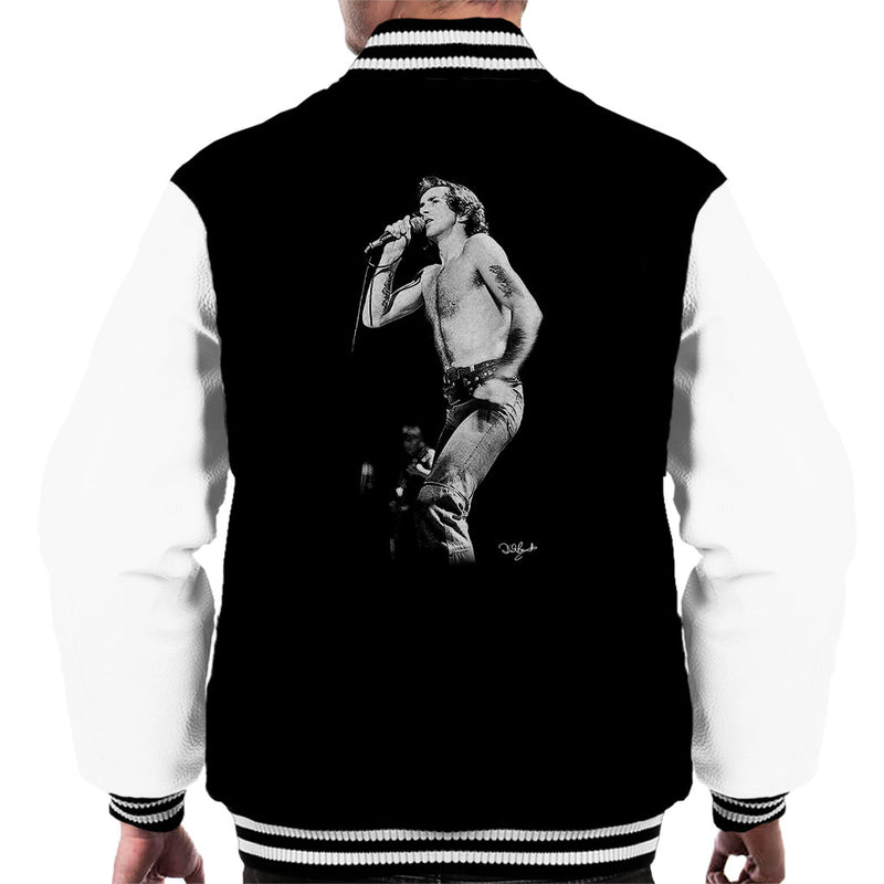 ACDC Bon Scott Men's Varsity Jacket - Don't Talk To Me About Heroes