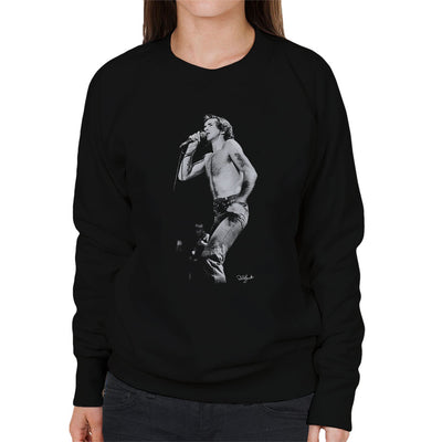 ACDC Bon Scott Women's Sweatshirt - Don't Talk To Me About Heroes