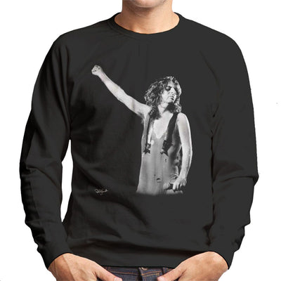 Alice Cooper On Stage Men's Sweatshirt - Don't Talk To Me About Heroes