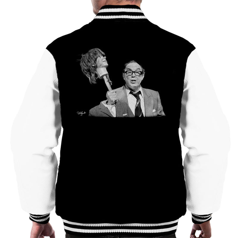 Eric Morecambe Men's Varsity Jacket - Don't Talk To Me About Heroes