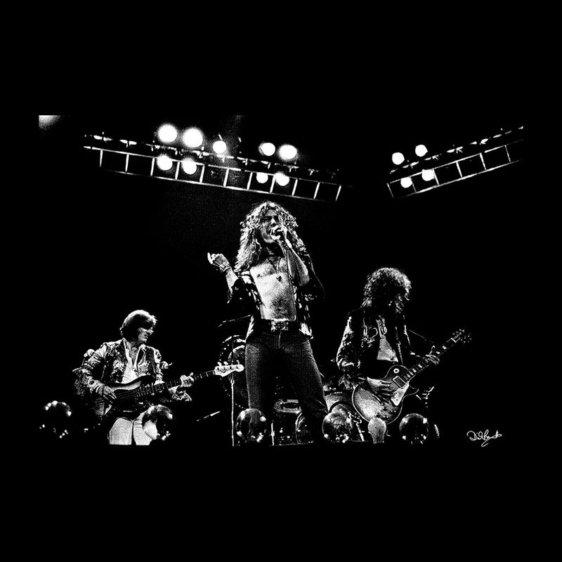Led Zeppelin Performing In London Men's T-Shirt - Don't Talk To Me About Heroes
