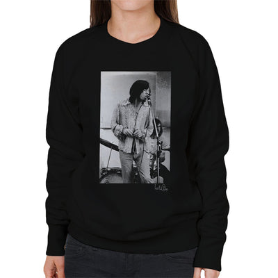 Rolling Stones Mick Jagger Rehearsal Apple Studios London Women's Sweatshirt - Don't Talk To Me About Heroes