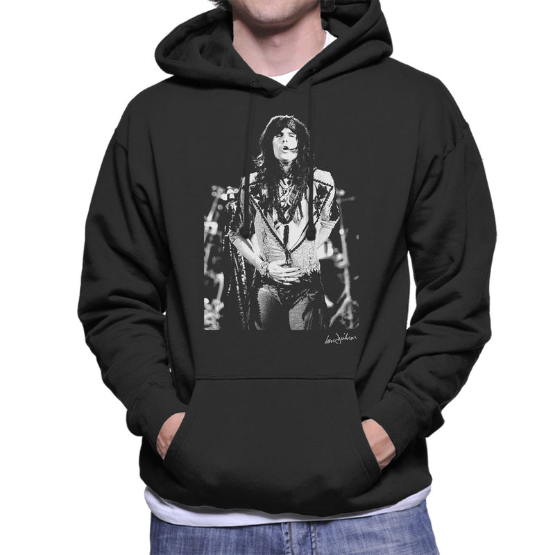 Aerosmith Steven Tyler 1989 Men's Hooded Sweatshirt - Don't Talk To Me About Heroes