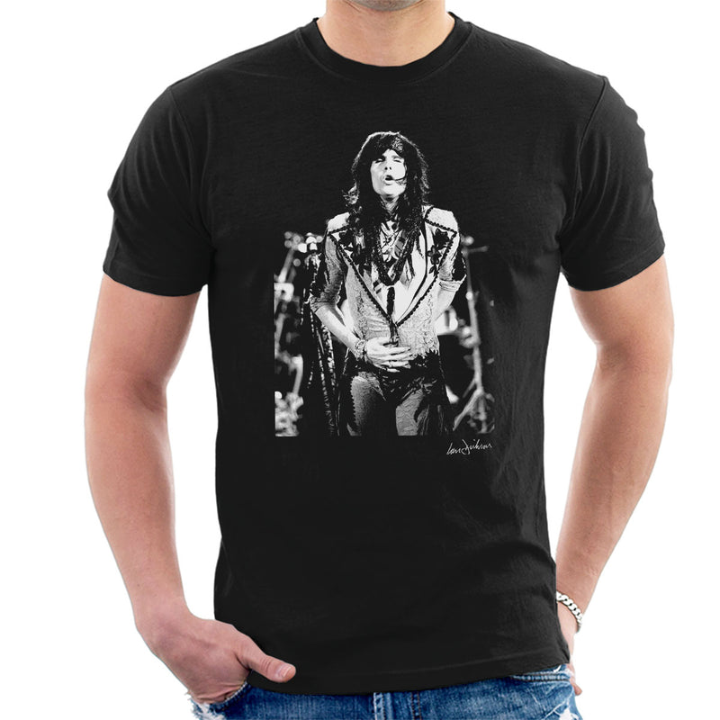 Aerosmith Steven Tyler 1989 Men's T-Shirt - Don't Talk To Me About Heroes