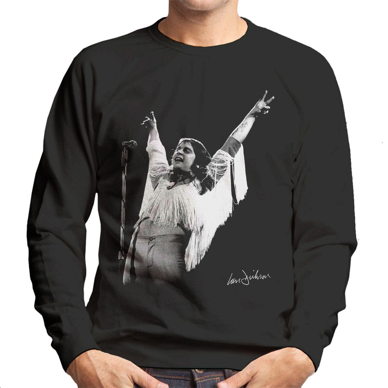 Black Sabbath Ozzy Osbourne 1973 Men's Sweatshirt - Don't Talk To Me About Heroes