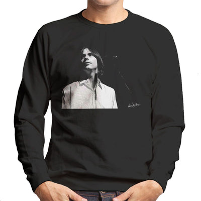 Jackson Browne Manchester Apollo 1976 Men's Sweatshirt - Don't Talk To Me About Heroes