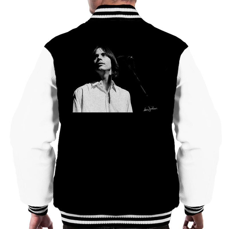 Jackson Browne Manchester Apollo 1976 Men's Varsity Jacket - Don't Talk To Me About Heroes