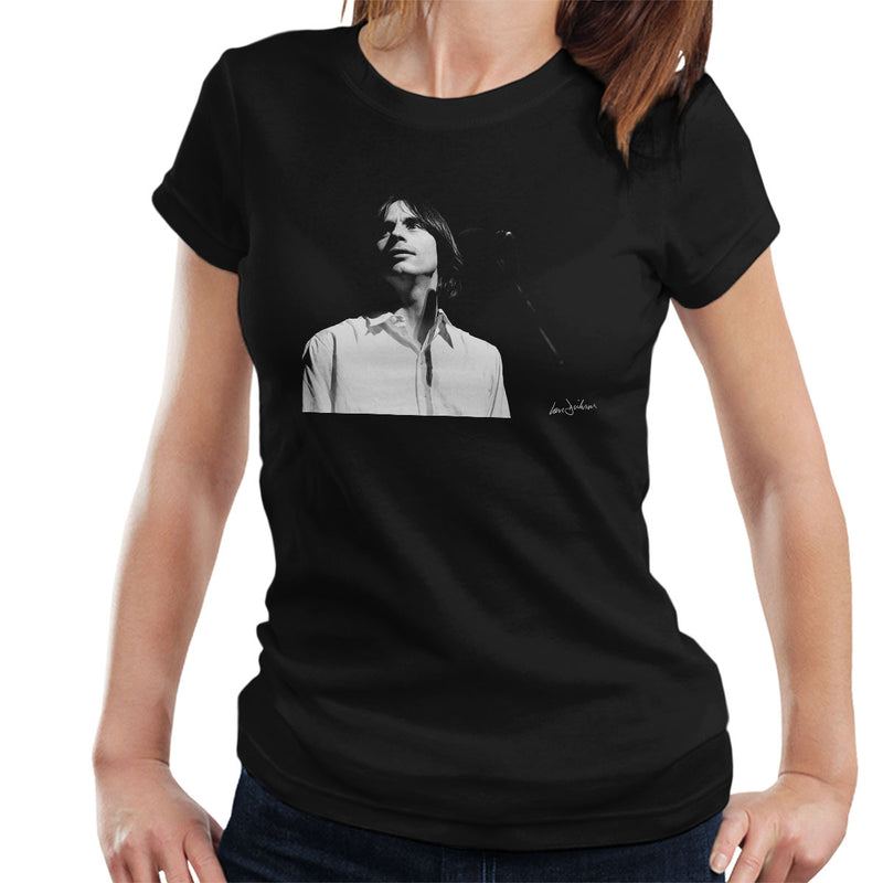 Jackson Browne Manchester Apollo 1976 Women's T-Shirt - Don't Talk To Me About Heroes