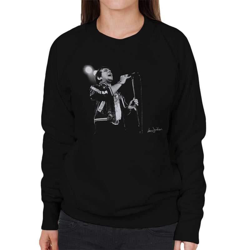 Eric Burdon And War 1974 Women's Sweatshirt - Don't Talk To Me About Heroes