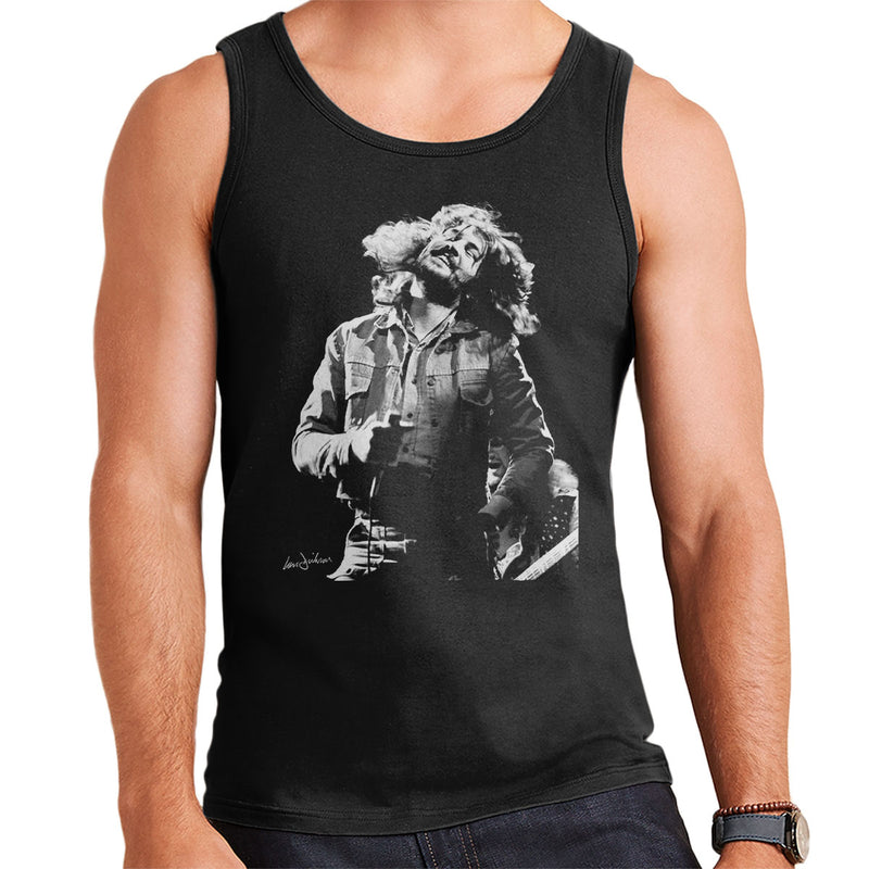 Ian Gillan Of Deep Purple 1973 Men's Vest - Don't Talk To Me About Heroes