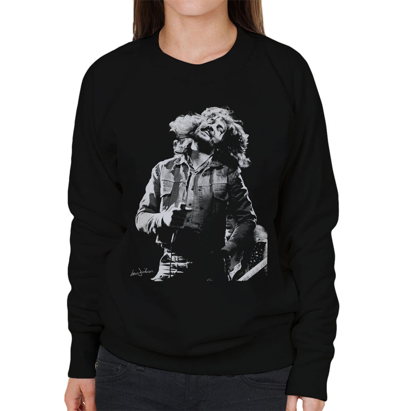 Ian Gillan Of Deep Purple 1973 Women's Sweatshirt - Don't Talk To Me About Heroes
