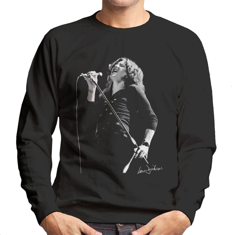 David Coverdale Of Deep Purple 1973 Men's Sweatshirt - Don't Talk To Me About Heroes