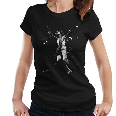 Peter Frampton Comes Alive Tour Wembley 1976 Women's T-Shirt - Don't Talk To Me About Heroes