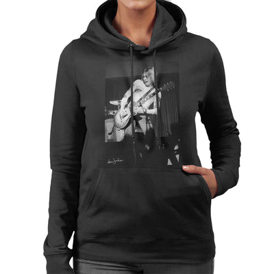 Mick Ronson Of The Hunter Ronson Band In Bristol 1975 Women's Hooded Sweatshirt