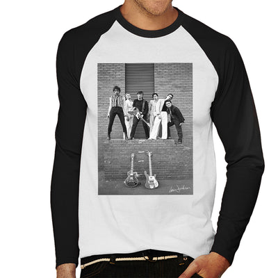 Boomtown Rats At Slough Technical College 1977 Men's Baseball Long Sleeved T-Shirt - Don't Talk To Me About Heroes