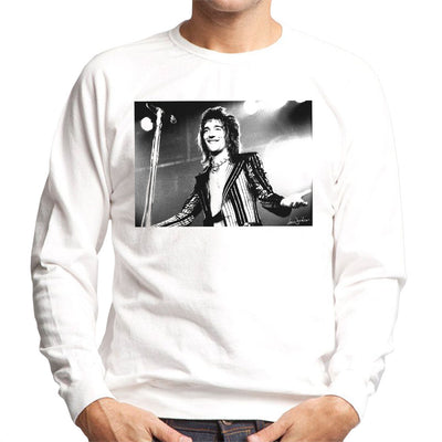 Faces Rod Stewart At Newcastle City Hall 1972 Men's Sweatshirt