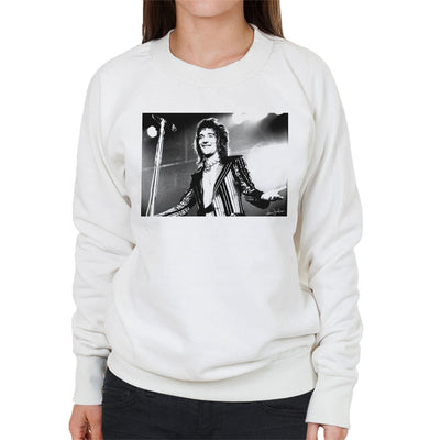 Faces Rod Stewart At Newcastle City Hall 1972 Women's Sweatshirt