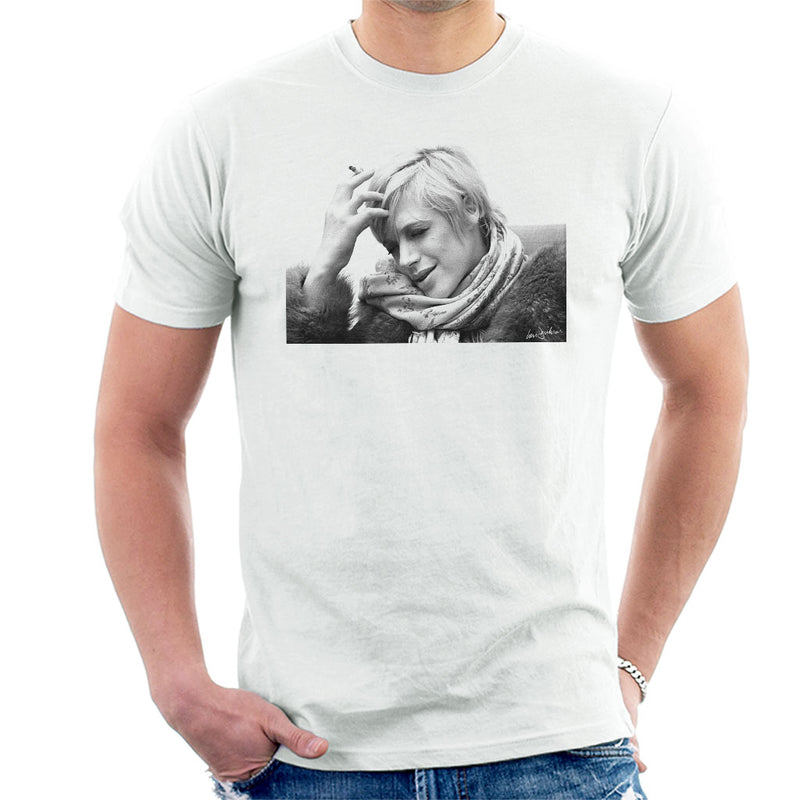 Marianne Faithfull Interview London Closeup 1974 Men's T-Shirt - Don't Talk To Me About Heroes