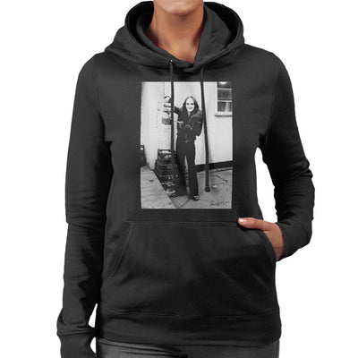 Peter Gabriel Reverse Mohawk And Makeup 1973 Women's Hooded Sweatshirt - Don't Talk To Me About Heroes