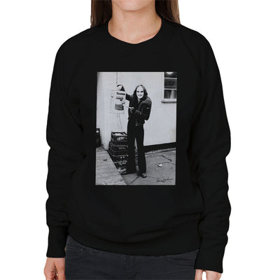 Peter Gabriel Reverse Mohawk And Makeup 1973 Women's Sweatshirt - Don't Talk To Me About Heroes