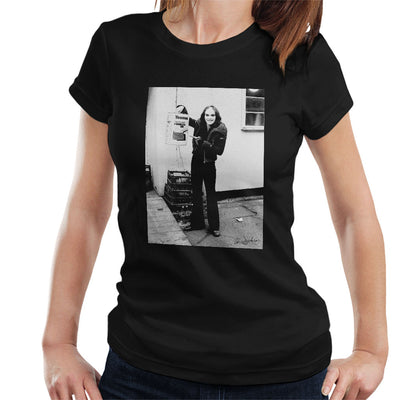 Peter Gabriel Reverse Mohawk And Makeup 1973 Women's T-Shirt - Don't Talk To Me About Heroes