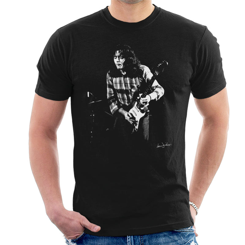 Rory Gallagher Live In London 1973 Men's T-Shirt