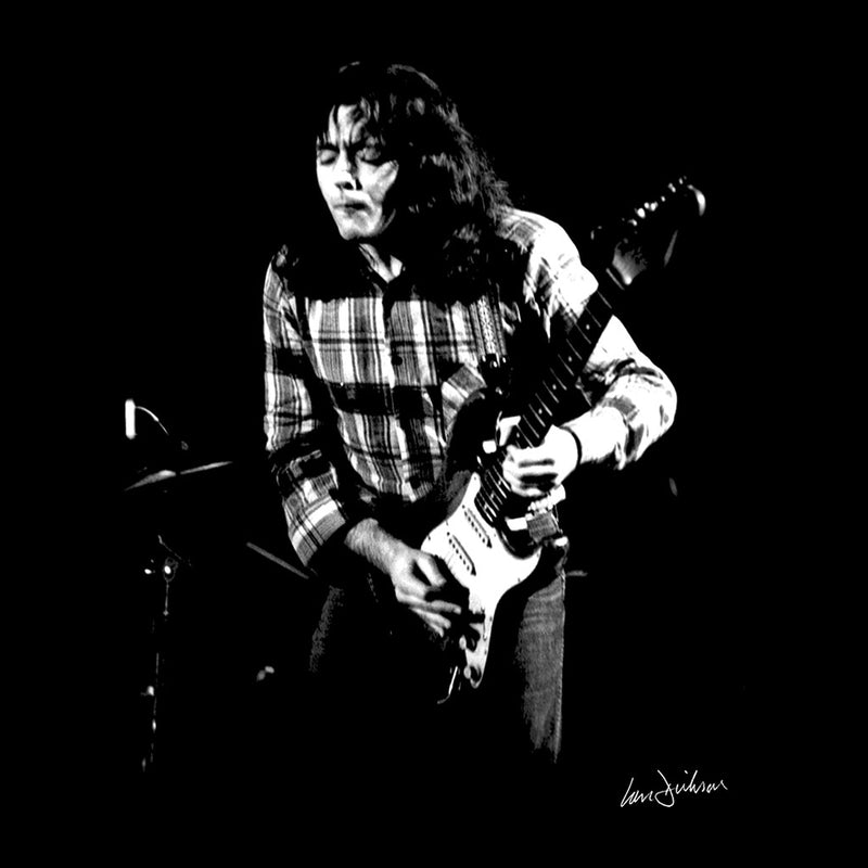 Rory Gallagher Live In London 1973 Women's Vest - Don't Talk To Me About Heroes