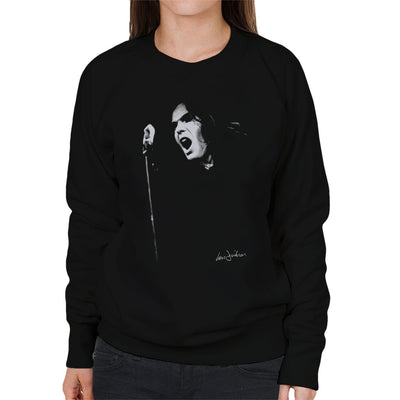 Peter Gabriel Of Genesis At Newcastle City Hall 1973 Women's Sweatshirt - Don't Talk To Me About Heroes