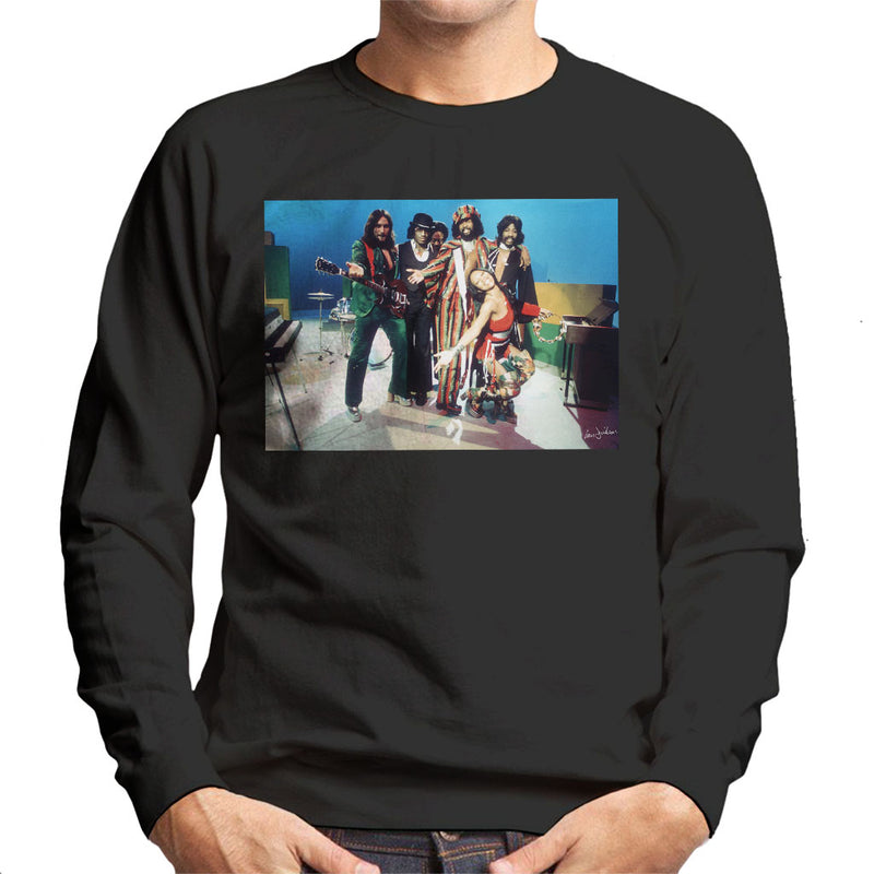 Graham Central Station Munich TV Studios 1975 Men's Sweatshirt - Don't Talk To Me About Heroes