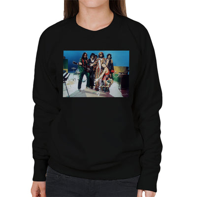 Graham Central Station Munich TV Studios 1975 Women's Sweatshirt - Don't Talk To Me About Heroes
